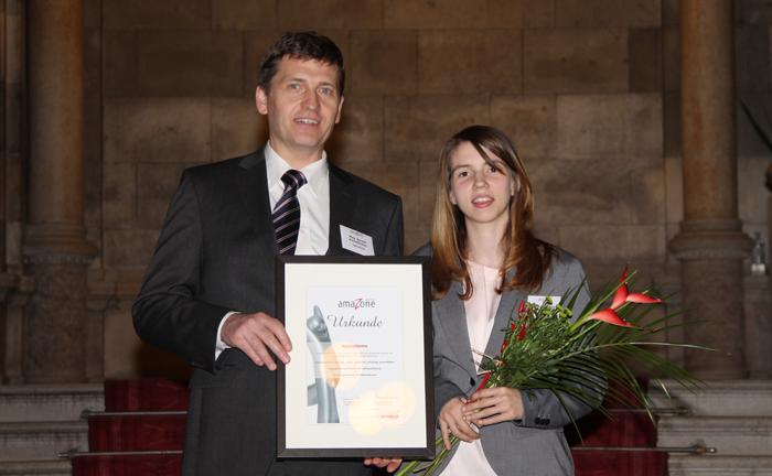 Urkunde für appsystems beim amaZone Award 2013