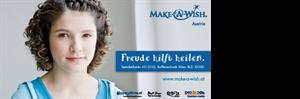 Das offizielle Plakat von Make-A-Wish Österreich