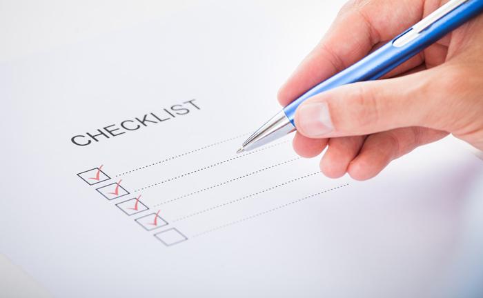 Snippet: Checkliste für die Optimierung