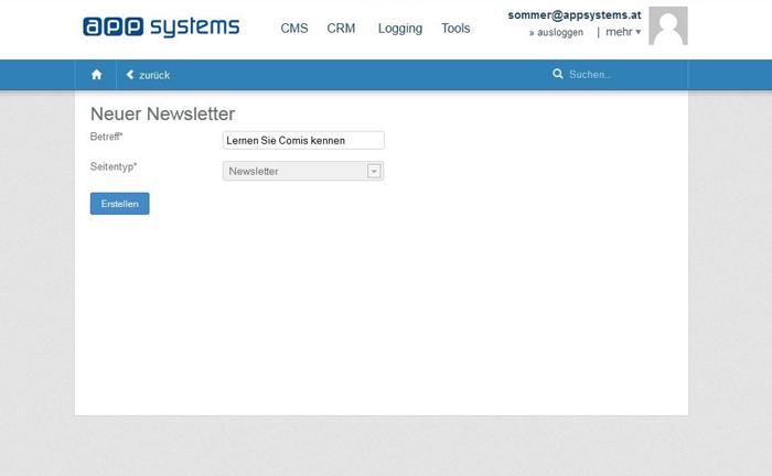 Newsletter Software: Wie Sie einen Newsletter anlegen